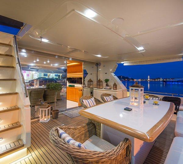 VENTO Yacht Charter Details Ferretti CHARTERWORLD Luxury Superyachts